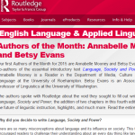 Routledge website