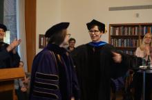 Professor Citko at 2018 graduation ceremony