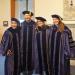 PhD grads Brent Woo, Michael Goodman, Alli Germain, and Laura Panfili